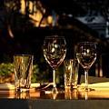 夕陽下的玻璃杯.JPG
