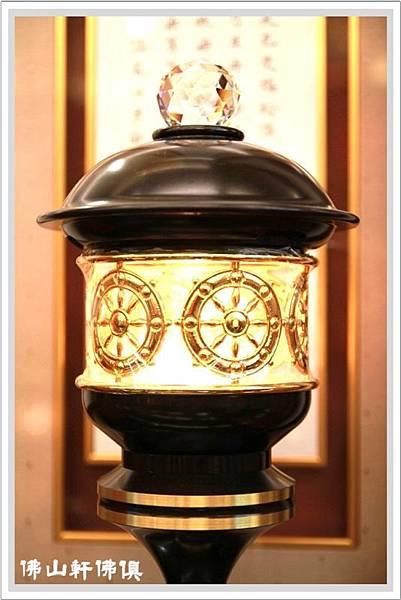 【佛山軒佛俱神燈】七寶銅水晶護法燈