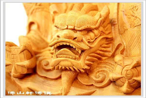 神像佛具(佛俱)-神龍太子檜木(坐姿)5.jpg