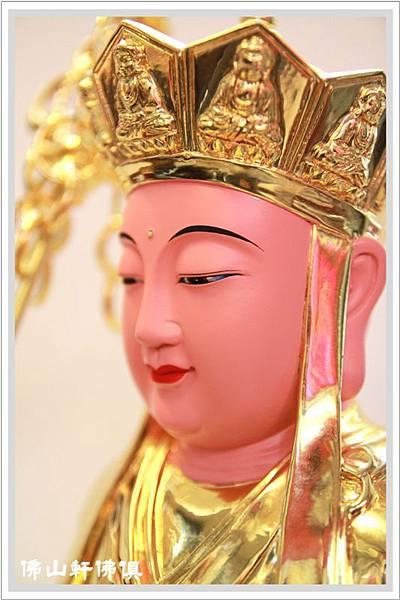 神像佛具(佛俱)-金身地藏王(純金)8.jpg