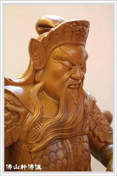 大神像佛具(佛俱) -2呎2立姿關公7.jpg