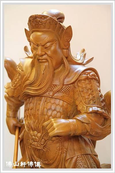 大神像佛具(佛俱) -2呎2立姿關公6.jpg