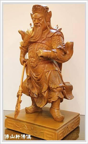 大神像佛具(佛俱) -2呎2立姿關公5.jpg