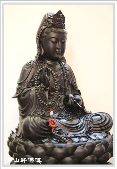 神像-黑檀觀音-1呎3珍貴木材3.jpg