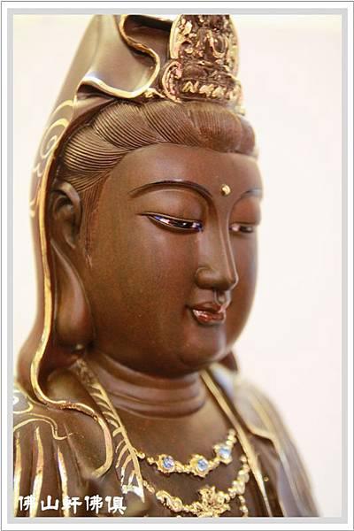 佛像-1呎6綠壇木觀世音菩薩描金3.jpg