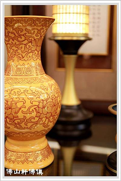 佛具用品-黃鎏金花瓶4.jpg