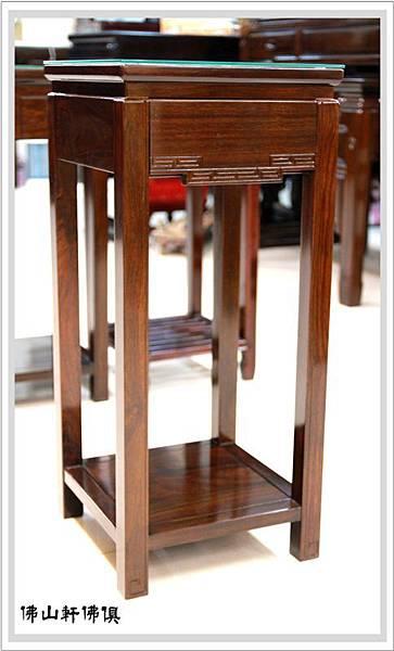 【佛山軒佛俱居家神桌】黑紫檀木花架-尚有多種款式