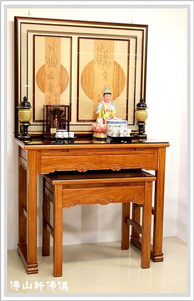 佛堂設計展示-全經輪木雕與黃如意05.jpg