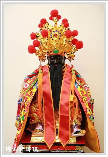 【佛山軒神像佛俱】悠久歷史在地神像 - 靈安尊王(客製)與青山王