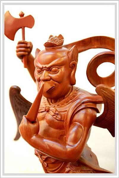 特雕神像-蕭楠木雷公4.jpg
