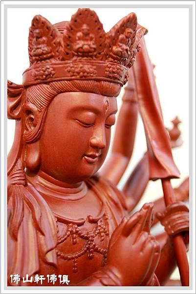 紅豆杉準提佛母神像5.jpg
