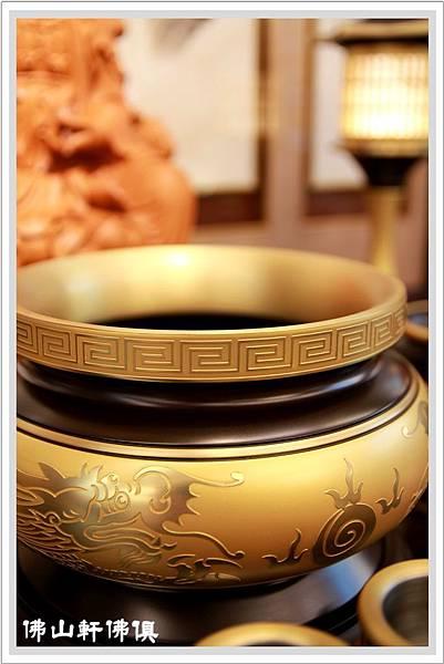 【佛山軒佛俱銅器】寶華銅器佛具- 黃珍珠典藏系列