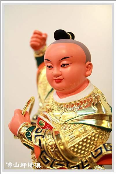 【佛山軒佛俱神像】台南體安金太子爺