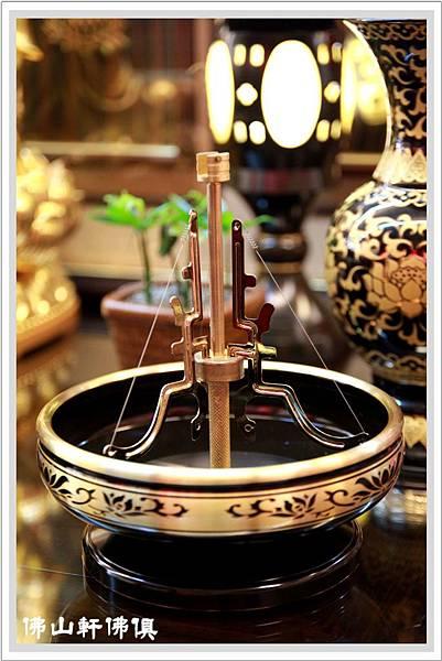 【佛山軒佛俱精品】和生銅器之香環盤與燭臺