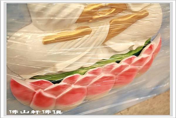 佛具整修-神像蓮葉木雕5