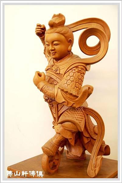 深雕太子神像3