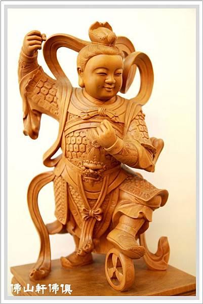 深雕太子神像2