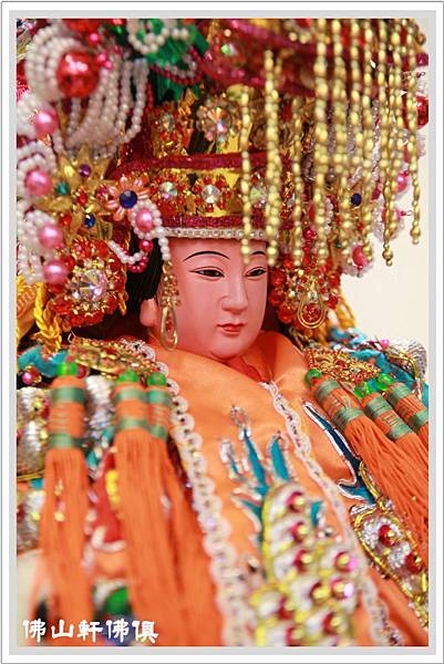 軟身媽祖(真珠帽)神像4