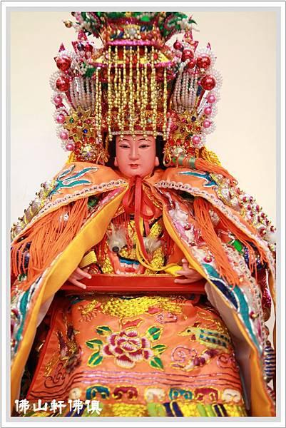 軟身媽祖(真珠帽)神像3
