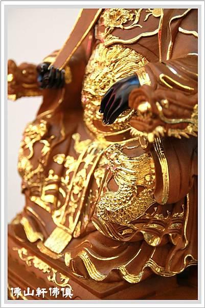 媽祖-黑臉描金佛像10