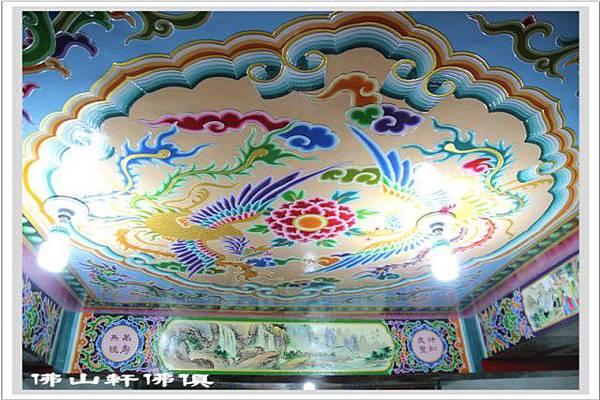 宮頂廟壁彩繪工程