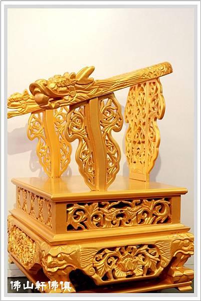 佛具用品-金龍椅4