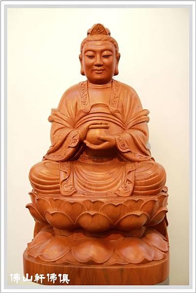 【驪山老母神像】一尺六紅豆杉客製木雕