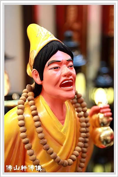 【佛山軒神像佛俱】擬人像客製木雕作品- 李小龍濟公