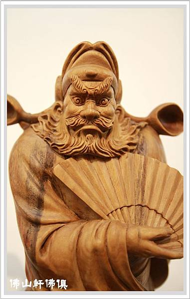 【佛山軒神像佛俱】唐代文武狀元 - 木雕鍾馗作品