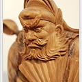 木雕鍾馗(站立)藝術雕刻3