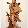 木雕鍾馗(站立)藝術雕刻2