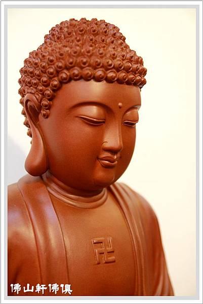 釋迦佛像蕭楠木雕3