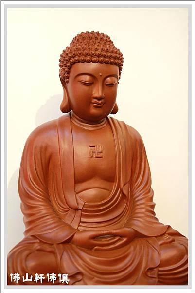 釋迦佛像蕭楠木雕2