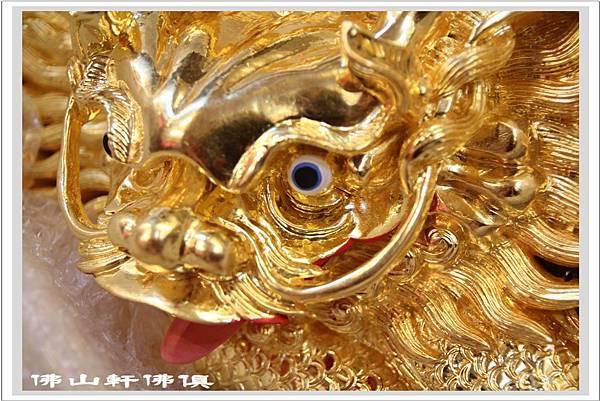 龍雕貼純金3