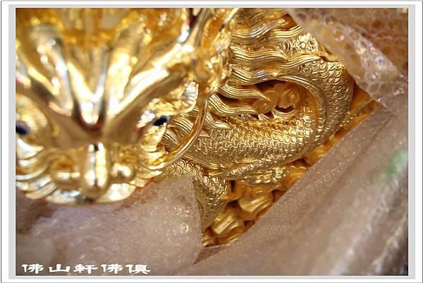 龍雕貼純金2