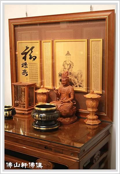 神桌佛聯佛堂-中式新如意佛桌5