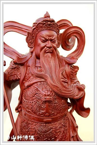 紅壇伽藍菩薩- 站立關聖帝君3