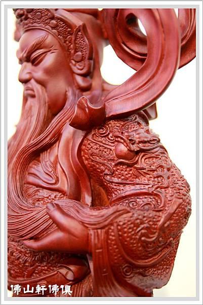 紅壇伽藍菩薩- 站立關聖帝君6