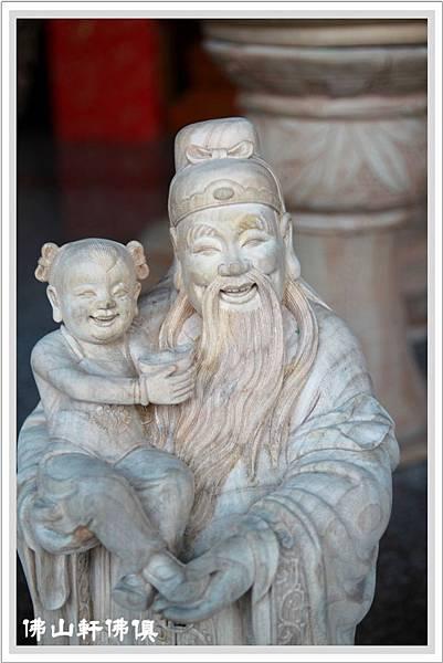 三仙神木雕像福祿壽星5