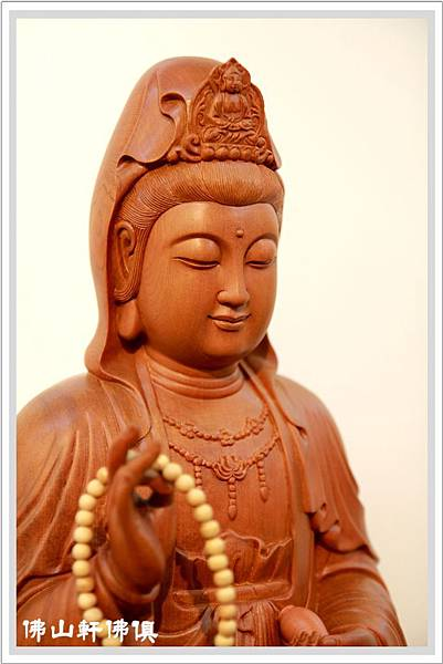 【佛山軒佛像佛俱】淨慧觀世音菩薩- 台灣蕭楠木神像