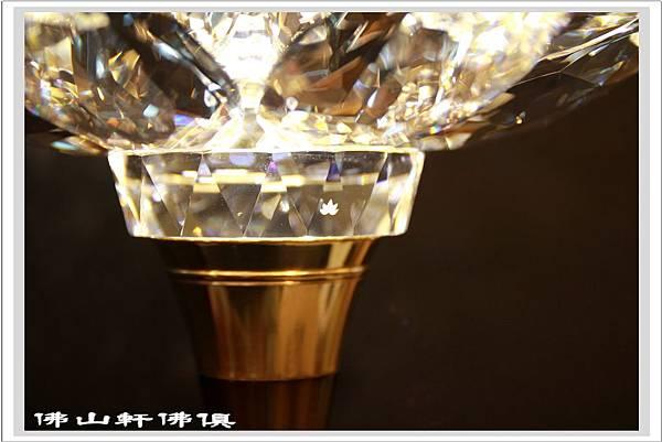 蓮花牌水晶1尺6海灣型LED水晶燈4