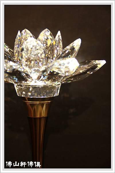 蓮花牌水晶1尺6海灣型LED水晶燈3