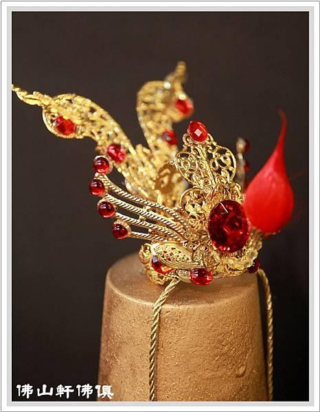 手工太子束冠-紅寶鑚5