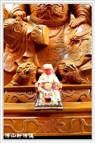 大型神像作品-2呎2廣澤尊王原木03