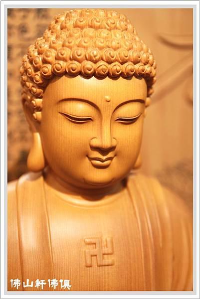 台灣檜木釋迦佛像4
