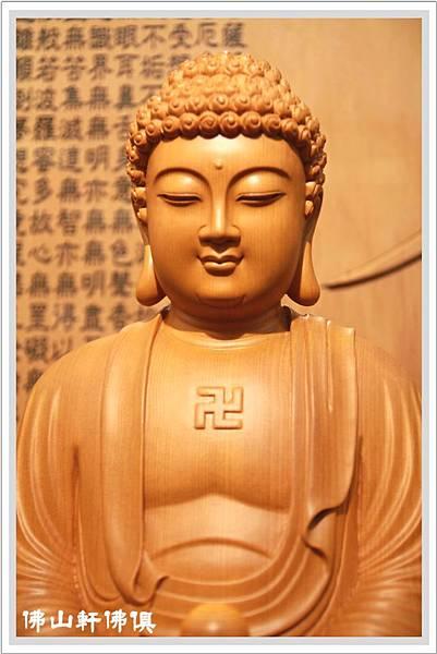 台灣檜木釋迦佛像3