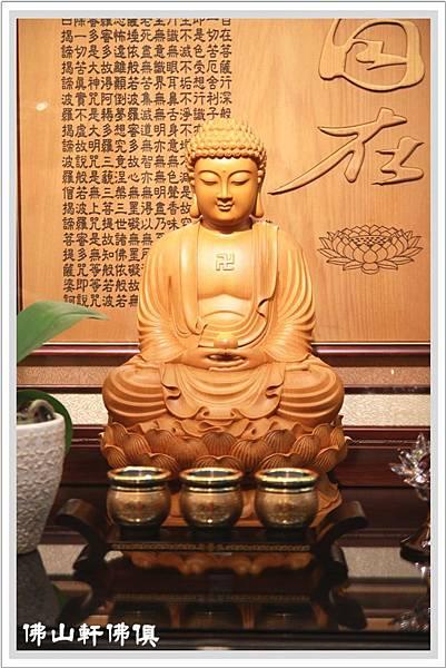 台灣檜木釋迦佛像1