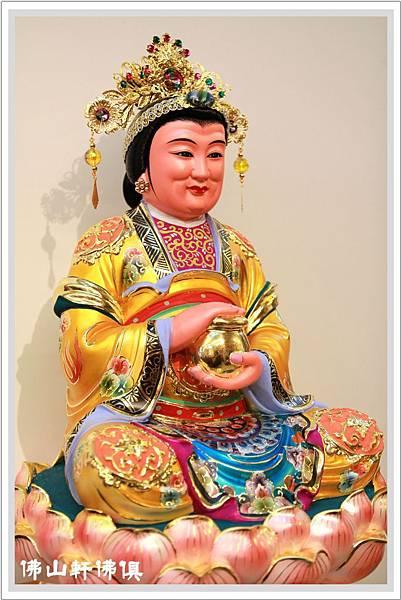 1尺6蓮花驪山老母佛像2
