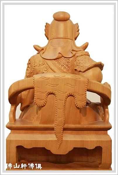 台灣檜木關聖帝君神像5
