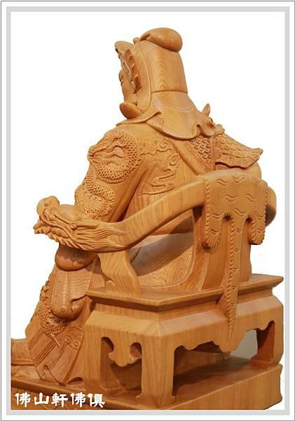 台灣檜木關聖帝君神像4